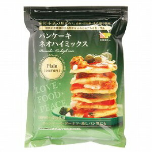 パンケーキ ネオハイミックス 砂糖不使用(プレーン) 400g【創健社】【05P03Dec16】