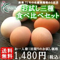 卵お試しセット送料無料名古屋コーチンたまご