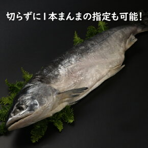 時鮭1本まんまの指定も可能