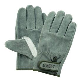 手袋 作業用手袋 革手袋 革手 FGC 富士グローブ SW-32B 3双入 S&W ソフト ウォッシャブル オイル 皮手 マジックタイプ ジャストサイズ L LLサイズ