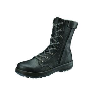 シモン 安全靴 大きいサイズ 29 30 cm 長編 SS 33 C 黒 JIS 8101 S種 規格 チャック ワイド 樹脂 先芯 SX 3層 経年劣化しにくい 加水分解しにくい 耐滑 牛革 ワークブーツ 牛