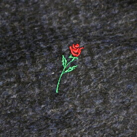 RADIALL ラディアル VAHJON - OPEN COLLARED SHIRT L/S オープンシャツ ROOT BROWN
