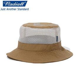 RADIALL ラディアル BAY - BUCKET HAT バケットハット CAMEL