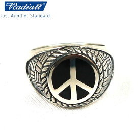 RADIALL ラディアル PEACE SYMBOL RING SILVER