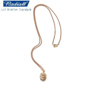 RADIALL ラディアル LOWRIDER CHARM NECKLACE ネックレス BRASS