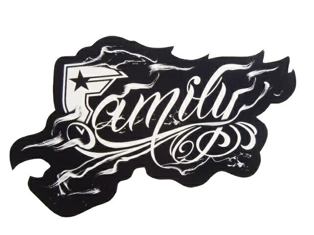 "FAMOUS STARS AND STRAPS フェイマススターズ&ストラップス ""FAMILY SMOKED"" STICKER"
