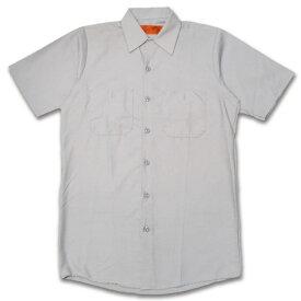 RED KAP SHORT SLEEVE SHIRTS 半袖ワークシャツ SP24SV SILVER GREY