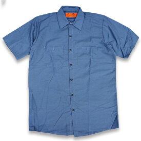 RED KAP SHORT SLEEVE SHIRTS 半袖ワークシャツ SP24PB POSTMAN BLUE