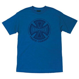 INDEPENDENT インディペンデント FADE CROSS Tシャツ ROYAL BLUE