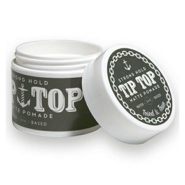 TIP TOP POMADE TIP TOP ポマード -STRONG HOLD MATT-