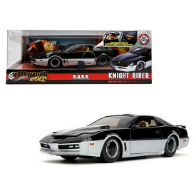 """JADA TOYS 1/24SCALE Hollywood Rides Knight Rider K.A.R.R. in """"Try Me"""" Box ナイトライダー"""