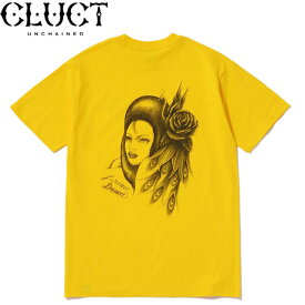 CLUCT #03032 BEAUTIFUL WOMAN S/S TEE 半袖Tシャツ CAMEL