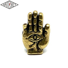 "HATCHET METAL WORK STUDIO ""HAND"" Number Bolt BRASS"
