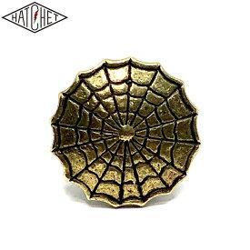 "HATCHET METAL WORK STUDIO ""SPIDER WEB"" Number Bolt BRASS"