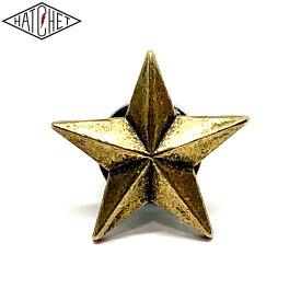 "HATCHET METAL WORK STUDIO ""STAR"" Number Bolt BRASS"