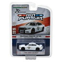 GL-358 GREENLIGHT HOT PURSUIT SERIES.25 2016 DODGE CHARGER (White) - CHP