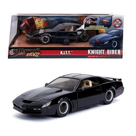 JADA TOYS 1/24SCALE Hollywood Rides Knight Rider K.I.T.T. with Lights & Try Me ナイトライダー