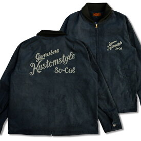 "定価¥29700 SALE!! 20%OFF!!/ KUSTOMSTYLE KSLWJ1704NY ""RACE WAY"" CORDUROY LW JACKET NAVY"