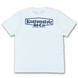 """KUSTOMSTYLE KST1712WH """"SUPREME QUALITY"""" WHITE Tシャツ"""