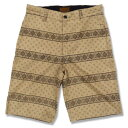 "KUSTOMSTYLE FCSP0902KH ""BANDANA LINE"" SHORTS KHAKI -REGULAR FIT-"