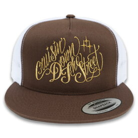 "KUSTOMSTYLE KSCP1902BR ""CRUISIN DOWN THE STREET"" MESH CAP メッシュキャプ BROWN"