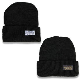 "KUSTOMSTYLE KSKNC1901BK ""ETERNAL FLAME"" BEANIE BLACK"