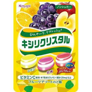 春日井製菓 キシリクリスタル フルーツアソートのど飴 67g