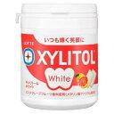 ロッテ キシリトールホワイト<ピンクグレープフルーツ>ファミリーボトル 143g×6個