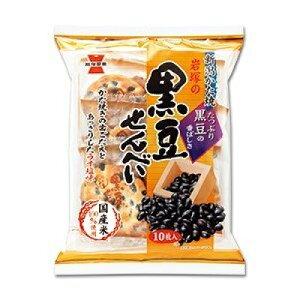 岩塚の黒豆せんべい 10枚×12個