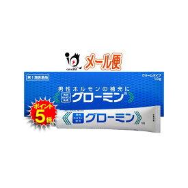 【ポイント5倍】【第1類医薬品】グローミン 10g 男性ホルモン軟膏剤【大東製薬】