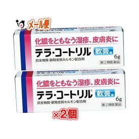 【指定第2類医薬品】テラコートリル 軟膏a 6g × 2個セット【ジョンソン・エンド・ジョンソン】