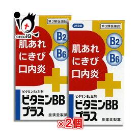 【第3類医薬品】ビタミンBBプラス「クニヒロ」250錠 × 2個セット【皇漢堂製薬】