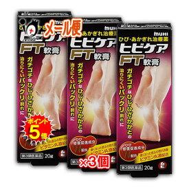 【ポイント5倍】【第3類医薬品】ヒビケアFT軟膏 20g × 3個セット【池田模範堂】