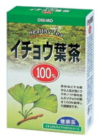 オリヒロ NLティー100% イチョウ葉茶 26包 くすりの福太郎
