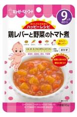 【特売】 キューピー ベビーフード HA-5 ハッピーレシピ 鶏レバーと野菜のトマト煮 おかず レトルトパウチタイプ (80g) アレルギー特定原材料7品目不使用 9ヶ月頃から くすりの福太郎