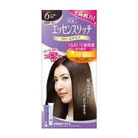 パオン エッセンスリッチ クリームタイプ 白髪染め 白髪用早染めタイプ 6 やや濃い栗色 くすりの福太郎