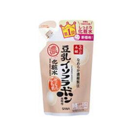 サナ なめらか本舗 豆乳イソフラボン含有の濃化粧水 しっとり化粧水 NA つめかえ用 (180ml) くすりの福太郎