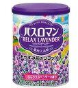 アース製薬 薬用入浴剤 バスロマン リラックスラベンダーの香り (680g) くすりの福太郎