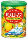 アース製薬 薬用入浴剤 バスロマン 【濃縮レモン仕立て】 (850g) くすりの福太郎