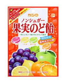 カンロ ノンシュガー 果実のど飴 (90g) くすりの福太郎 ※軽減税率対象商品