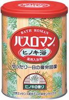 アース製薬 薬用入浴剤 バスロマン ヒノキ浴 【ヒノキの香り】 (680g) くすりの福太郎