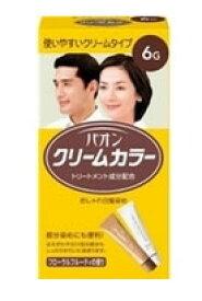 パオン クリームカラー おしゃれ白髪染め 【6G 自然な褐色】 くすりの福太郎