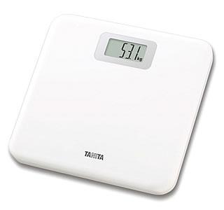 タニタ デジタル ヘルスメーター HD-661 ホワイト (1台) 体重計 くすりの福太郎