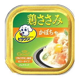 日本ペットフード ビタワン グー 鶏ささみ かぼちゃ (100g) ドッグフード ウェット くすりの福太郎