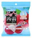 オリヒロ ぷるんと蒟蒻ゼリー パウチ ライチ (20g×6個入) くすりの福太郎