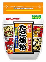 日清製粉 日清 たこ焼粉 (500g) チャック付 くすりの福太郎