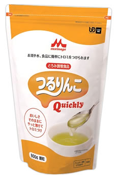 森永乳業 クリニコ つるりんこ クイックリー (800g) 顆粒 とろみ調整食品 くすりの福太郎