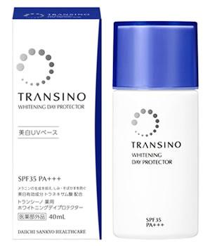 第一三共ヘルスケア トランシーノ 薬用 ホワイトニング デイプロテクター SPF35 PA+++ (40mL) 美白UVベース くすりの福太郎