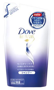 ユニリーバ Dove ダヴ モイスチャーケア シャンプー つめかえ用 (350g) 詰め替え用 くすりの福太郎