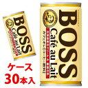 《ケース》 サントリー BOSS ボス カフェオレ (185g×30本) コーヒー飲料 【4901777235434】 くすりの福太郎 ※軽減税率対象商品